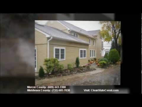 Contractors Mercer County NJ | Clean Slate Construction | (609) 443-3300 Mercer County
