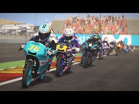 MotoGP 17 | RACE  Moto3 | Joan Mir | Aragon 2017 | gameplay |