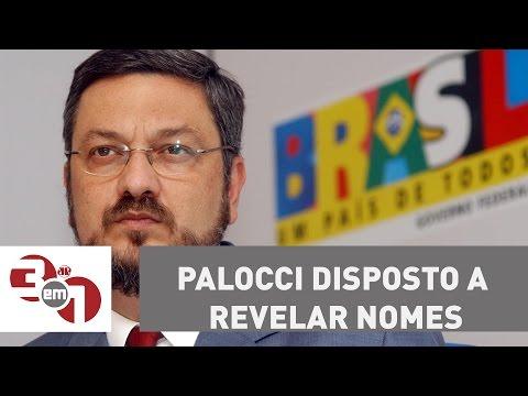 """Antonio Palocci diz que está disposto a revelar """"nomes e operações"""" que interessam à Lava Jato"""