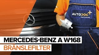 Reparation MERCEDES-BENZ A-klass själv - videoinstruktioner online