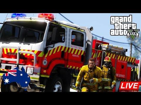 GTA 5 - Emergency 000 - NSW RFS Cat 1 Tanker - Paleto Bay Fire Patrol