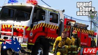 GTA 5 - Emergency 000 - NSW RFS Cat 1 Tanker - Paleto Bay Fire Patrol