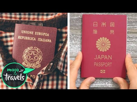 Top 10 Powerful Passports of 2019 | MojoTravels