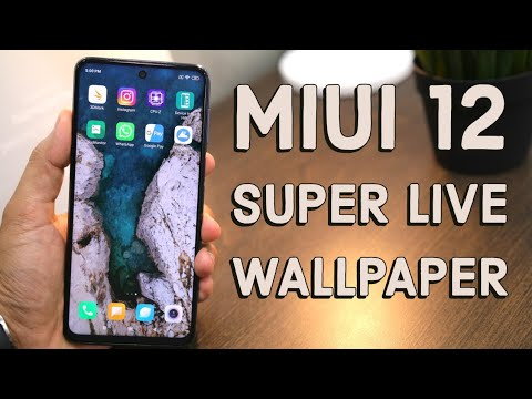 Install MIUI 12 Super Live Wallpaper On Any Android Device [Hindi]