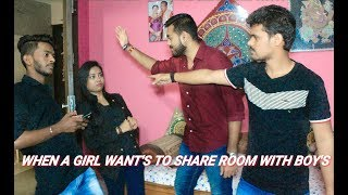 When A Girl Wants To share Room With You | Comedy Video | Entertainment | Rajeev Rock