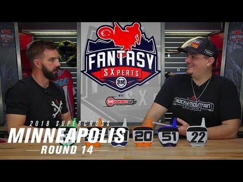 RMFantasy SXperts Round 14   2018 Minneapolis Supercross
