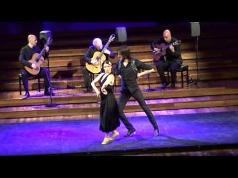 Flamenco at Palau de la Musica Catalana, Barcelona