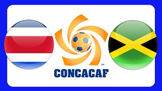 COSTA RICA JAMAICA CONCACAF GOLD CUP 2015 +++ GERMAN