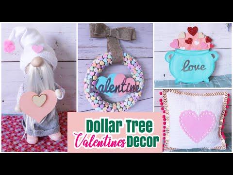 Dollar Tree DIY Valentines Decor