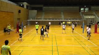 2015/08/16 準決勝 スパイク練習