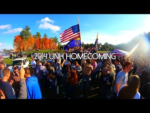 2014 UNIVERSITY OF NEW HAMPSHIRE HOMECOMING