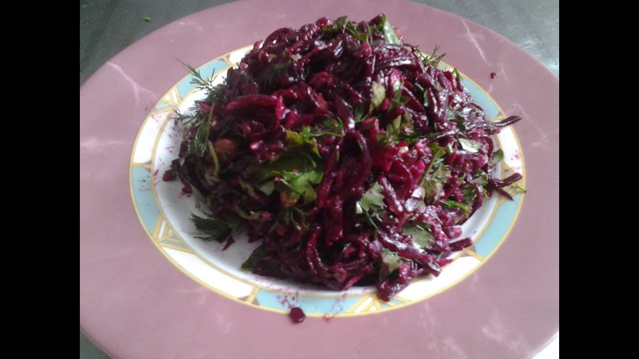 салат из свеклы с черносливом без майонеза рецепты