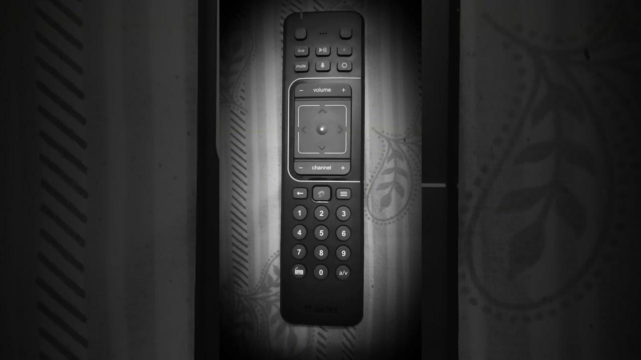 Airtel Internet TV remote problem solution!!