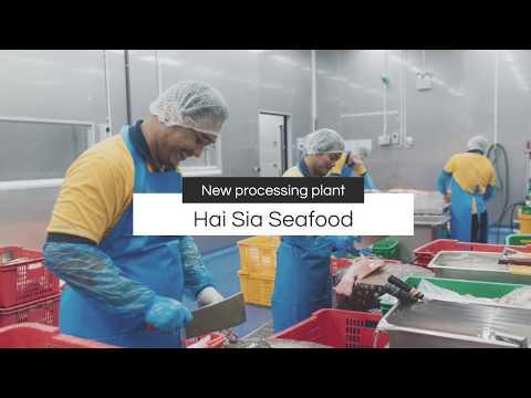 Hai Sia's new seafood processing plant