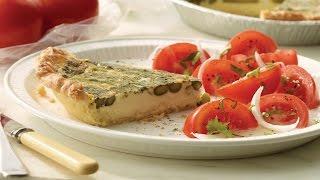 Asparagus And Parmesan Quiche | 2012 Milk Calendar Recipe