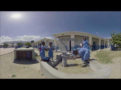 Improving water & sanitation services in Haiti - Eau et assainissement en Haïti (3D 360º VR)