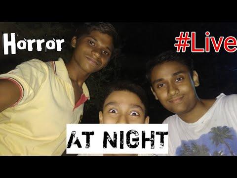 #Live At Night, Horror,Promo..☠️💀