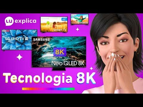 O que é a tecnologia 8k?