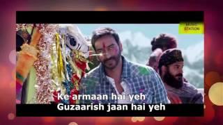 DARKHAAST Full Song Lyrics- SHIVAAY - Arijit Singh & Sunidhi Chauhan - Ajay Devgn