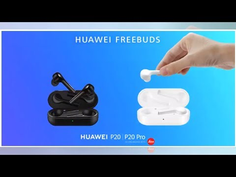 d759099d810 Huawei Freebuds, auriculares inalámbricos de larga autonomía - YouTube
