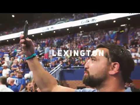 On Location with UK Athletics in Lexington