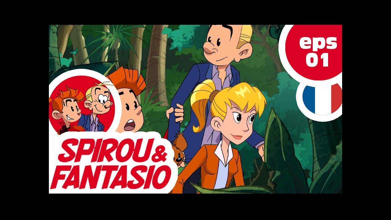 Spirou Fantasio Ep01 L Ile De Zorglu Partie 01 Youtube