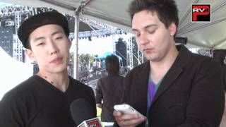 Jay Park answers fan questions at ISA Concert LA Queen Mary Long Beach