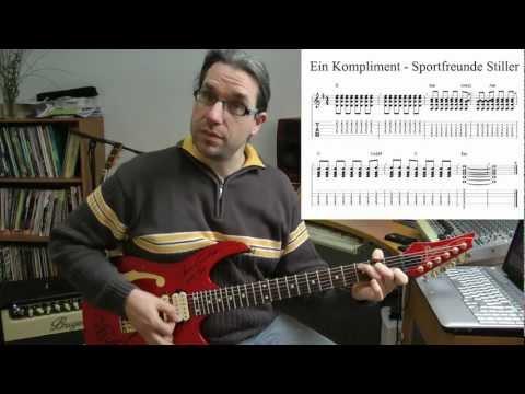 Gitarre spielen lernen - Ein Kompliment von Sportfreunde Stiller?