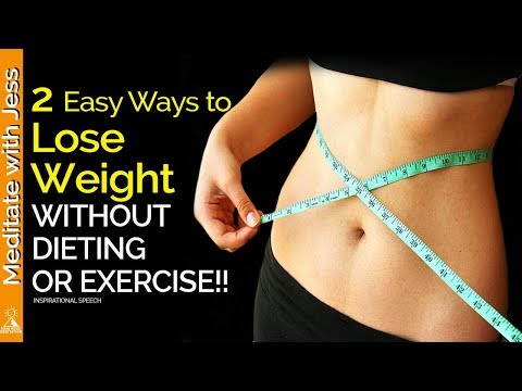How to Change Your Self-Image & Naturally Lose Weight! (Inspirational Speech)