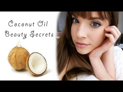 COCONUT OIL BEAUTY USES!