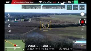 DJI Inspire 2 Range Test