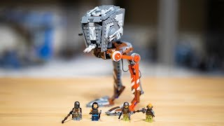 The Mandalorian AT-ST Raider LEGO Star Wars Review - 75254