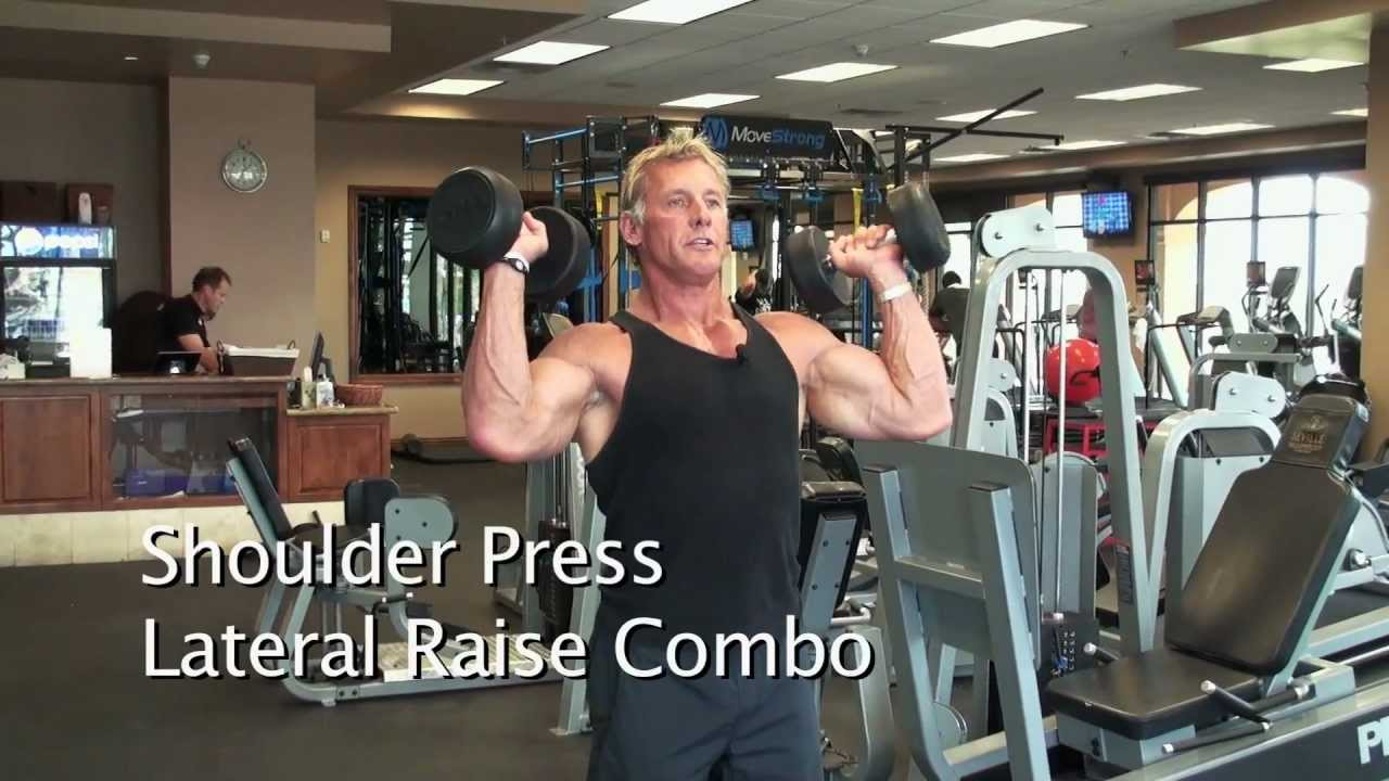 Lateral raises vs shoulder press