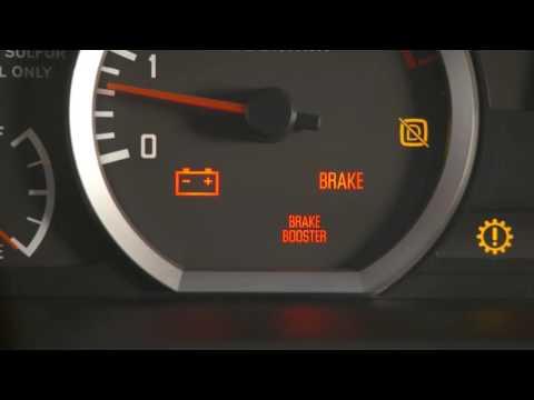 Batería de freno y los indicadores de servicio- Segmento 6