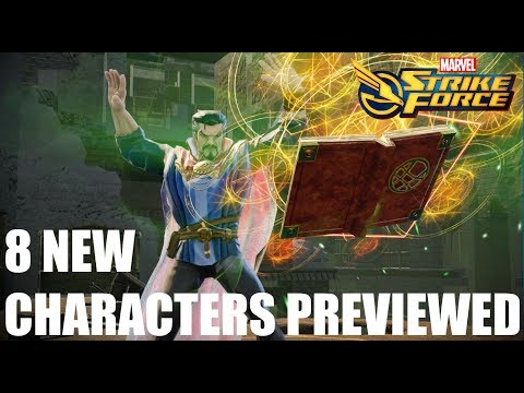 Marvel Strike Force - New Characters Skill Preview