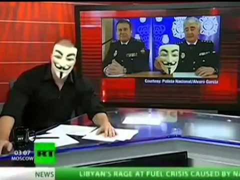 Anonymous is here.