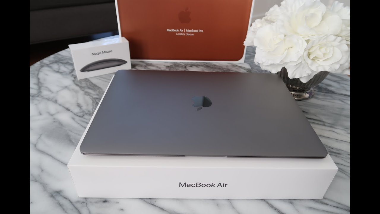 $569 for the new 2020 MacBook Air! (Space Grey) - YouTube