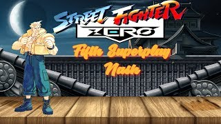 Street Fighter Zero - Nash【TAS】