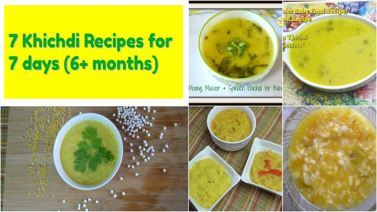 Homemade baby food recipes 7 khichdi recipes for babies kids homemade baby food recipes 7 khichdi recipes for babies kids forumfinder Gallery