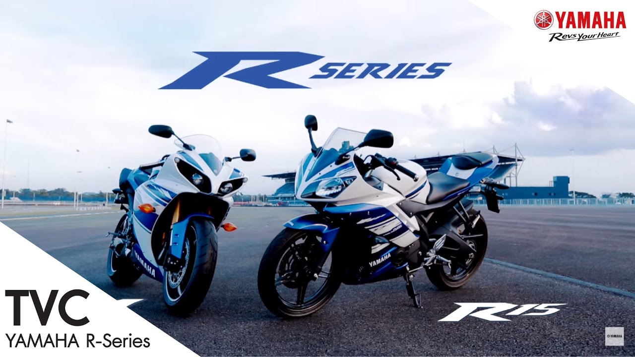 Tvc 30 sec yamaha r series r1 r15 bric youtube for Yamaha series a