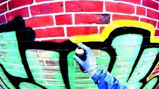 GRAFFITI - Throw Up Bombing - Raw Footage - SUCUK