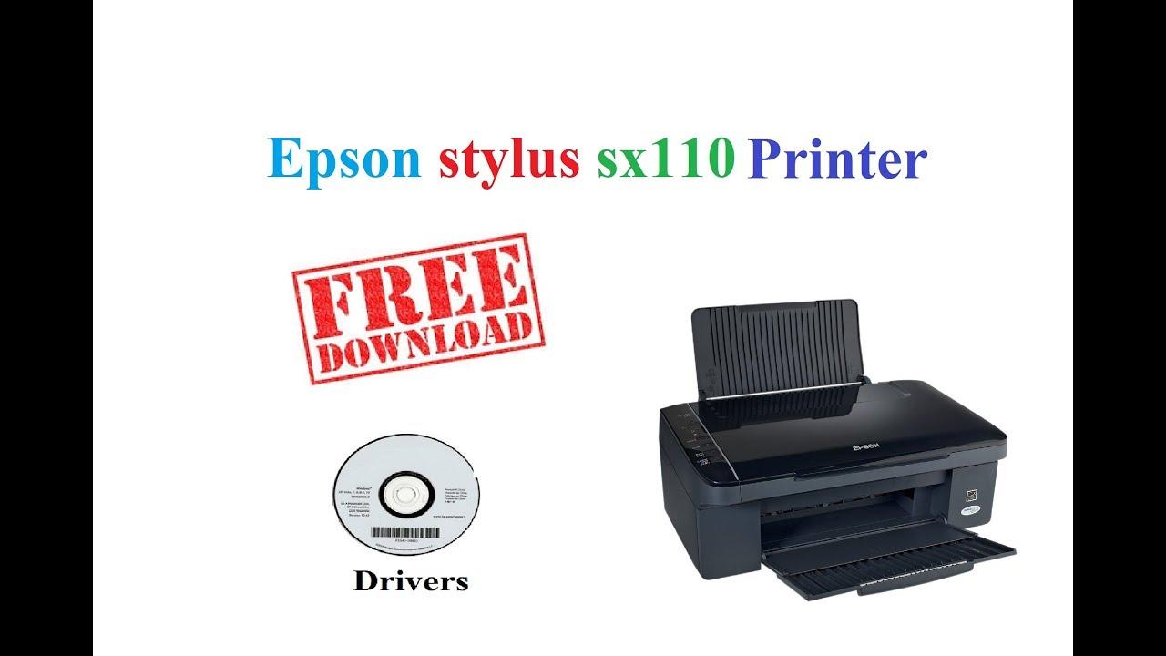 Stampante epson stylus sx110 scaricare