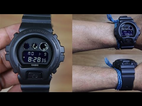 CASIO G-SHOCK DW-6900BB-1 SPECIAL COLOR - UNBOXING