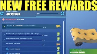 NEW Free Rewards IN Fortnite - Air Royale Limited time Challenges & Rewards!