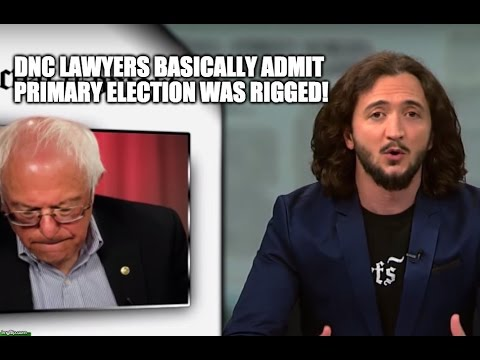 [WATCH] DNC Lawyers Basically Admit Primary Election Was Rigged
