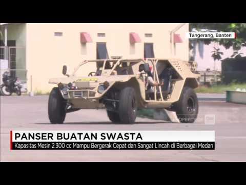 Mantap! Panser Buatan Swasta, Kendaraan Tempur Khusus TNI