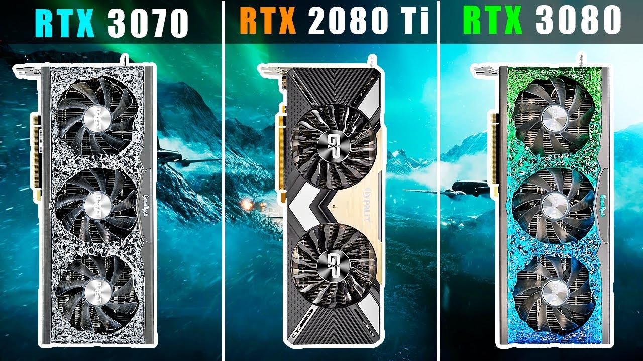 RTX 3070 vs 2080 Ti vs 3080 - БОЛЬШОЙ ОБЗОР и СРАВНЕНИЕ Palit GeForce GameRock