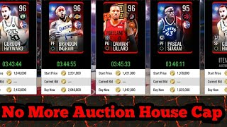 The Auction House Cap Was Removed (NBA Live Mobile)