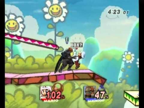 Brawl 09 Terry (Ganon/Diddy/Weegee) vs Ugvts (Mario/DK)