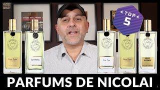 Top 5 Parfums De Nicolai Fragrances | Favorite Parfums De Nicolai Scents + 2 X 30ml USA Giveaway
